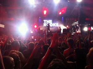 Hands in the air anthems were the order of the night for The Kooks at Ibiza Rocks