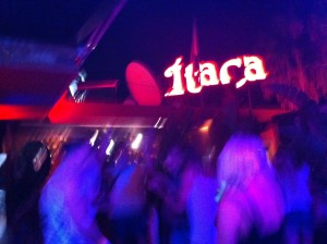 The crowd at Uneek Ibiza's launch party at Itaca