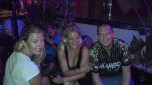 Griff, Sammy, Holly and DJ Darz